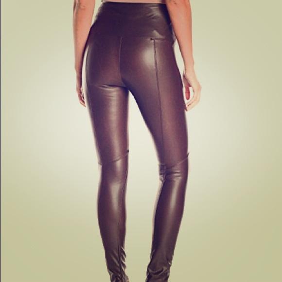 79191f4bc0f12d Lysse Pants   Fulllength Faux Leather Leggings   Poshmark